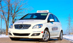 Car rental for SAAQ road test Henri Bourassa